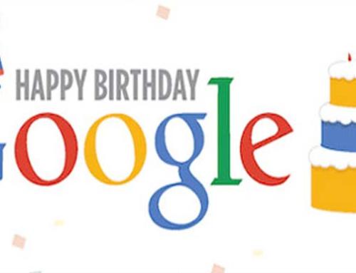 Google fyller 20 år 27.09.2018