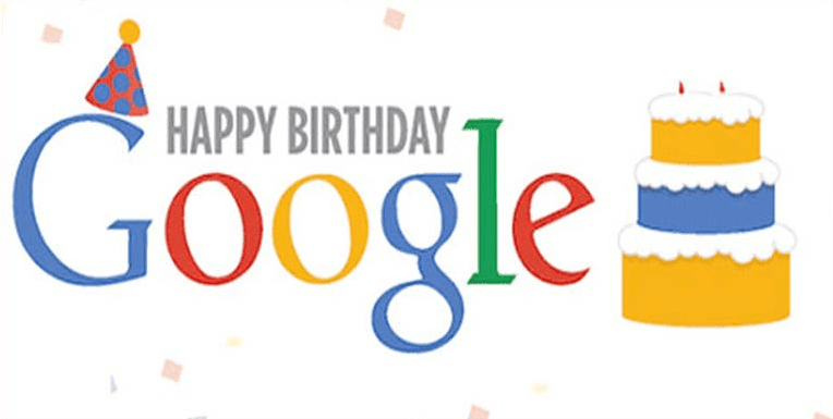 google fyller år Google fyller 20 år 27.09.2018   Media Access google fyller år